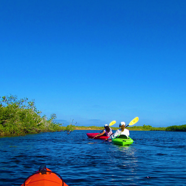 BB & Merary ~ Kayaking (3)