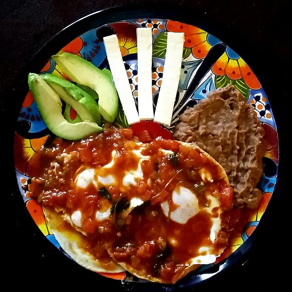 Guevos Rancheros ~ Happy Plate